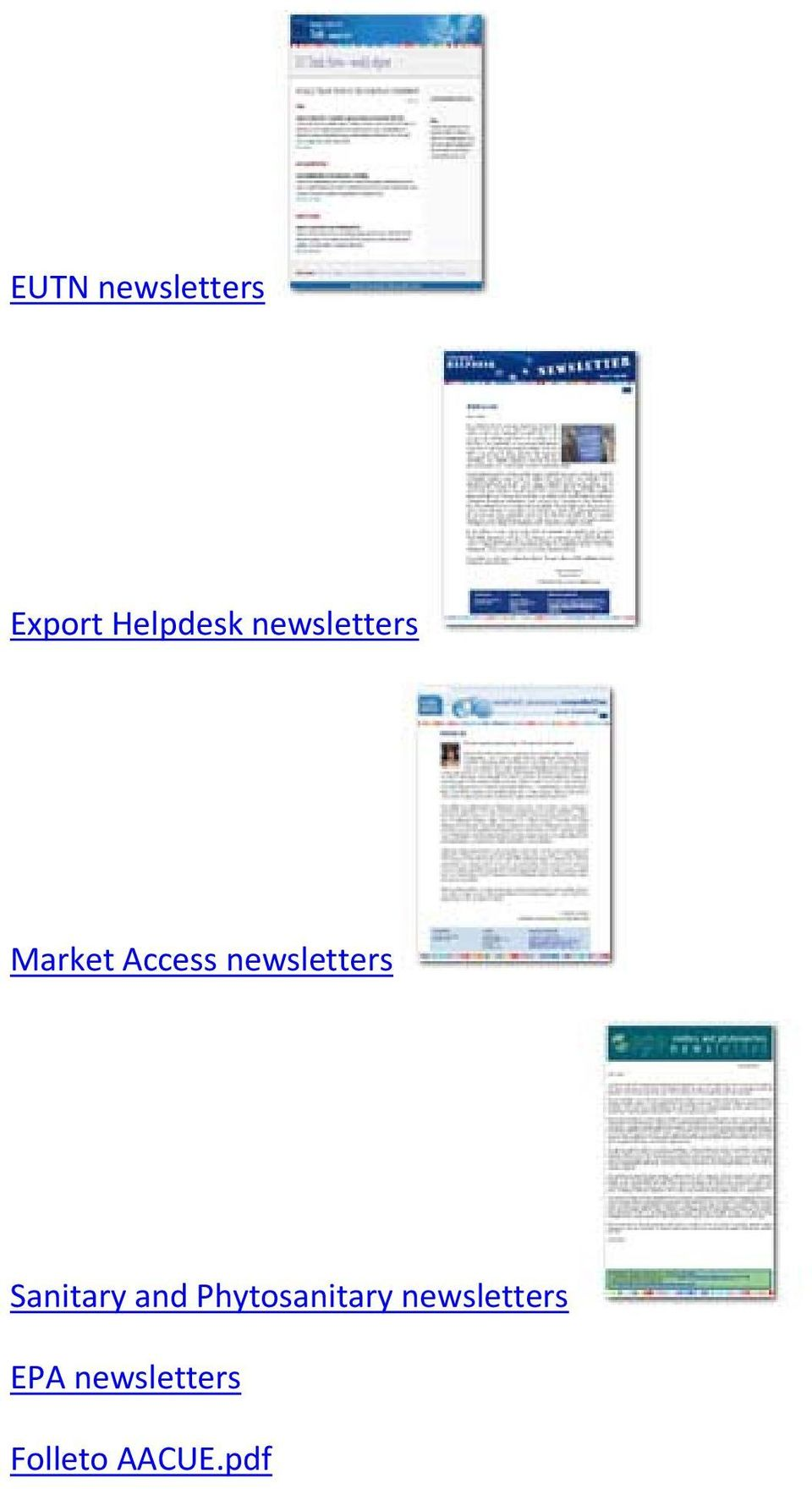 newsletters Sanitary and
