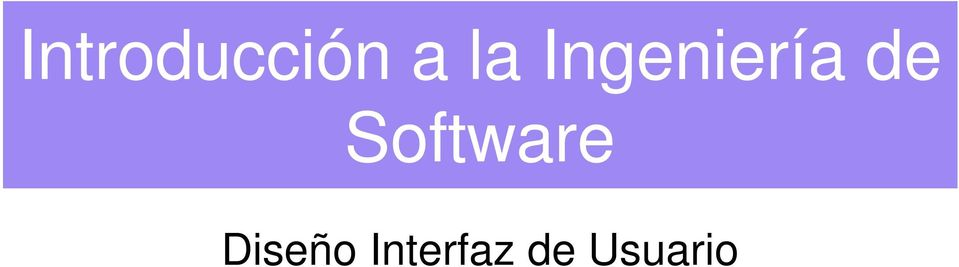 Software Diseño