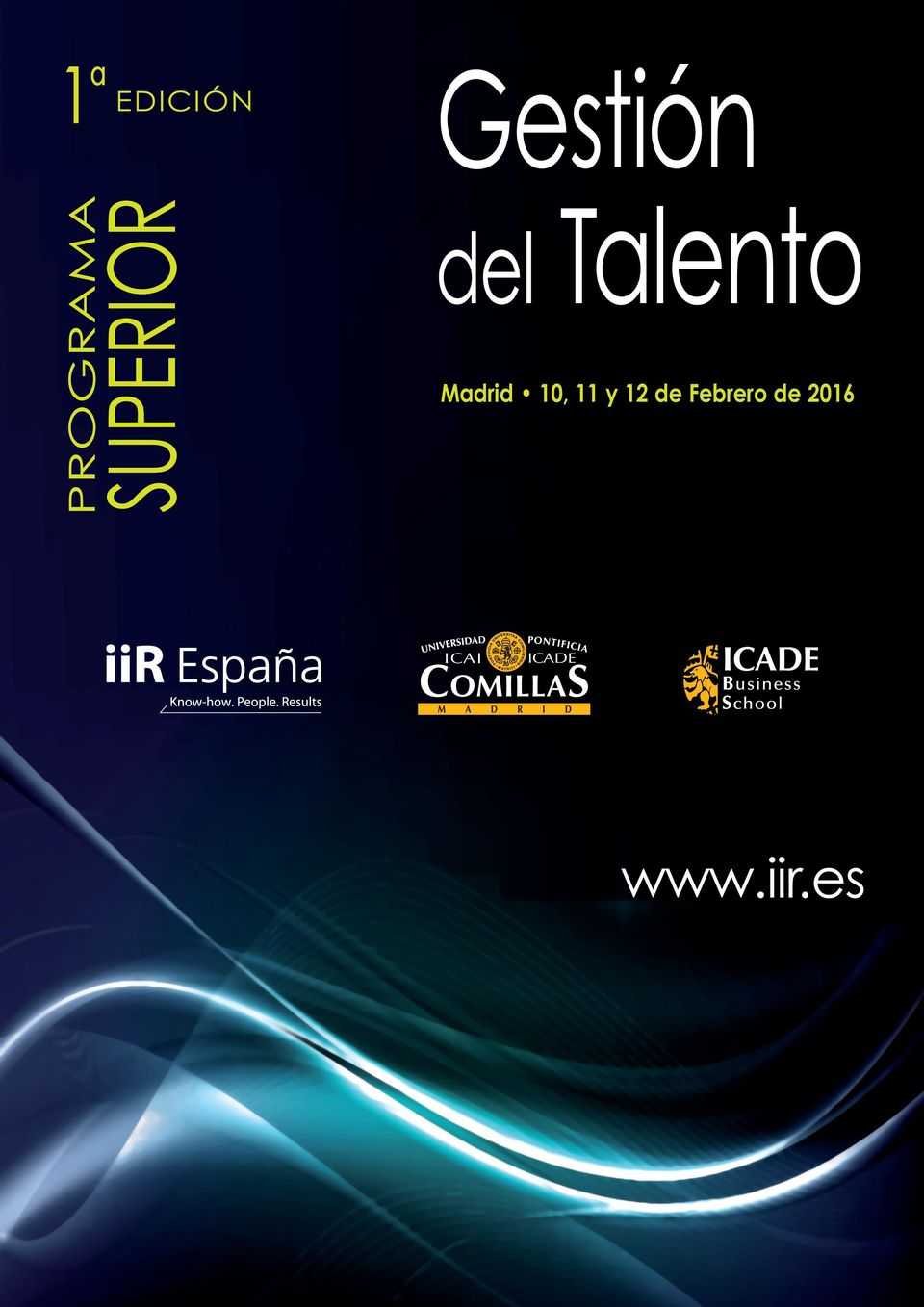 Talento Madrid 10, 11 y