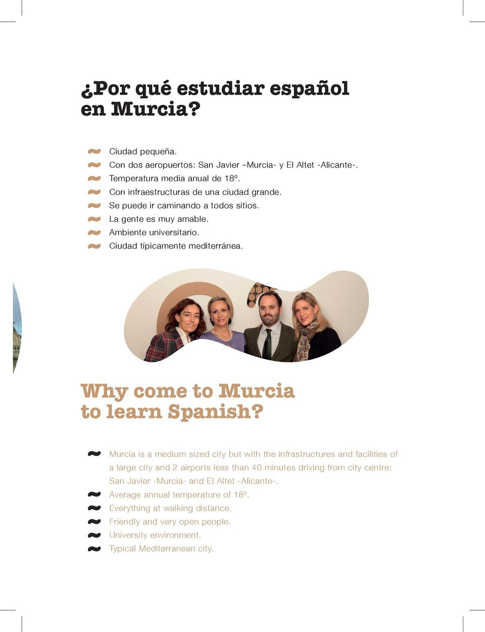 Why come to Murcia to learn Spanish?