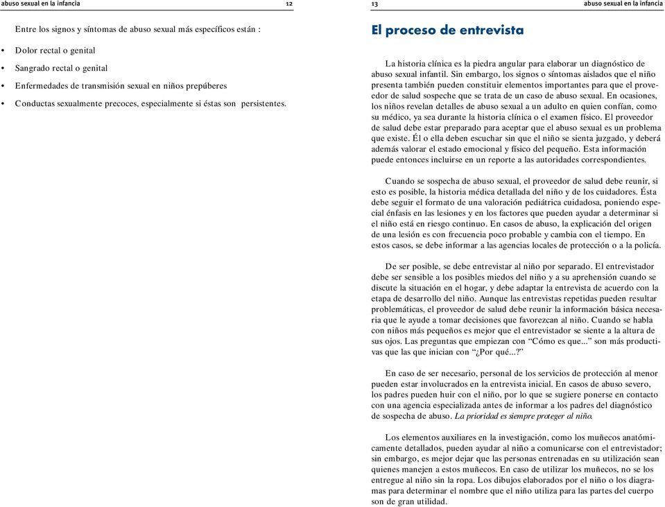 Abuso sexuAl inf Antil - Home UNICEF