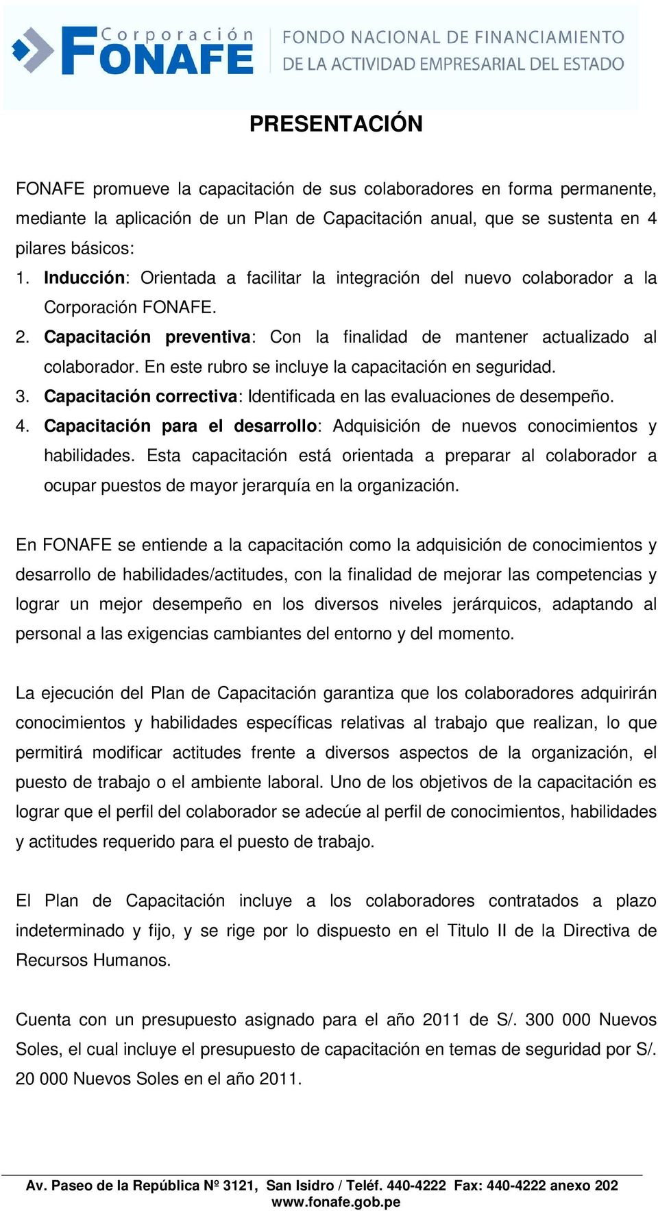 Plan de capacitaci n pdf for Capacitacion para restaurantes pdf