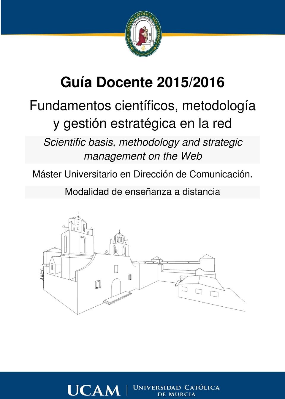 methodology and strategic management on the Web Máster