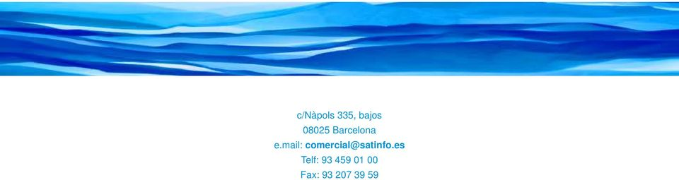 mail: comercial@satinfo.