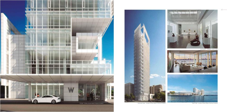 Partners Architects Rothschild Tower - Cortesía: Richard Meier &