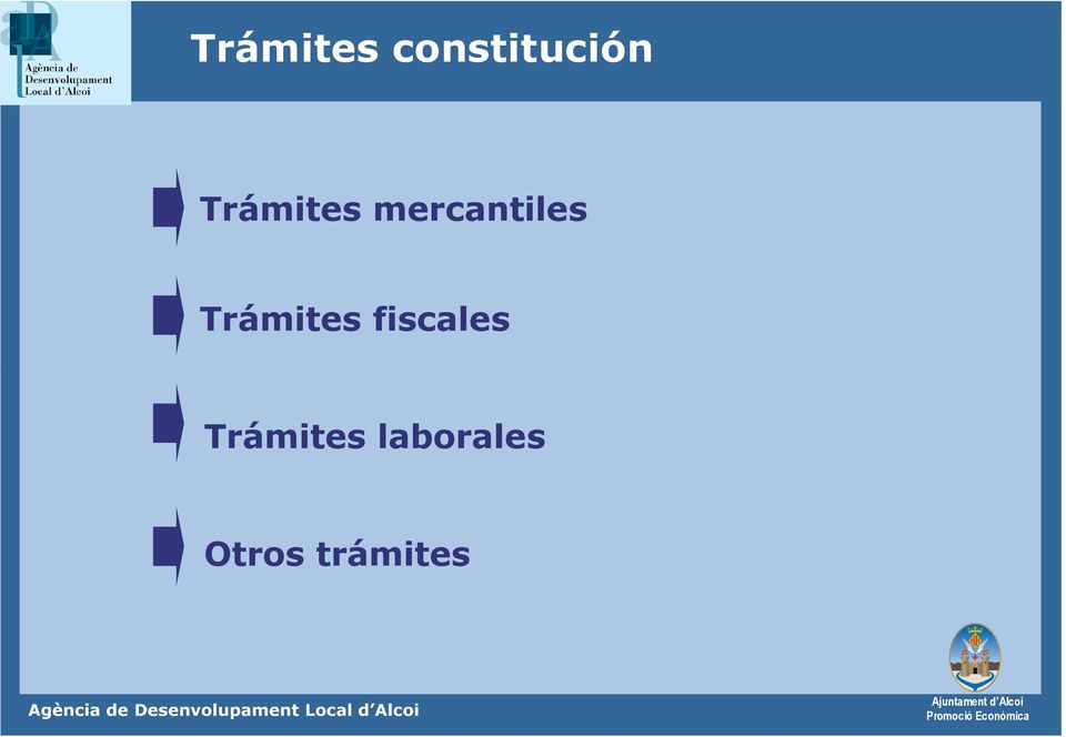 Trámites fiscales