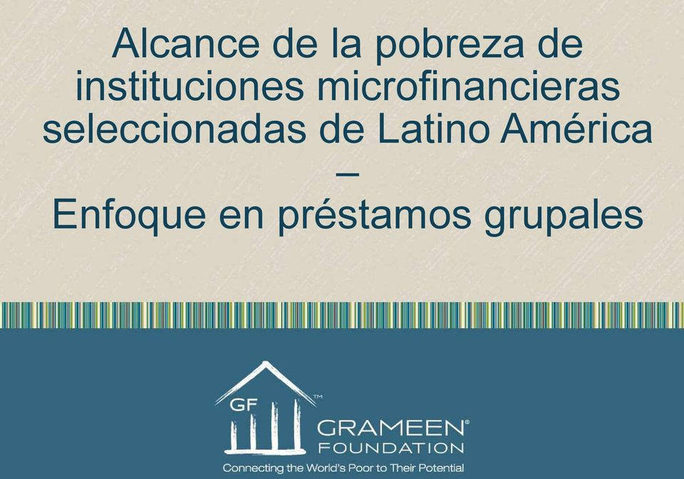 microfinancieras