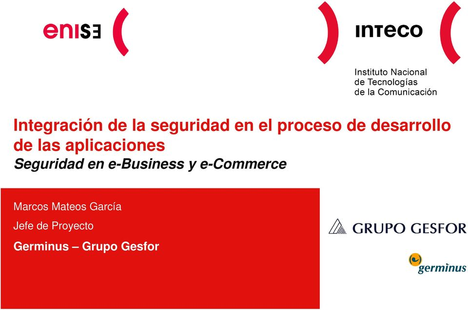 Seguridad en e-business y e-commerce