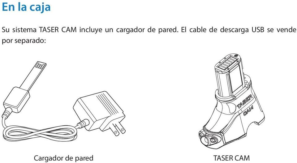 El cable de descarga USB se vende