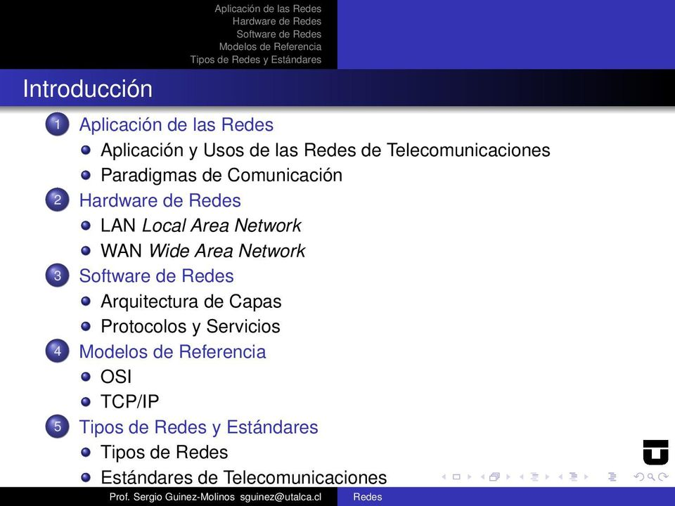 de LAN Local Area Network WAN Wide Area Network 3 Software de Arquitectura de Capas