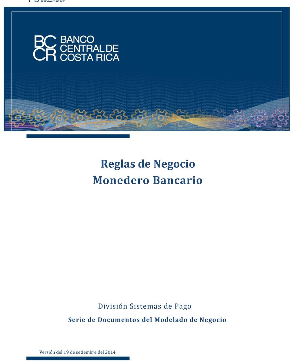 Documentos del Modelado de Negocio