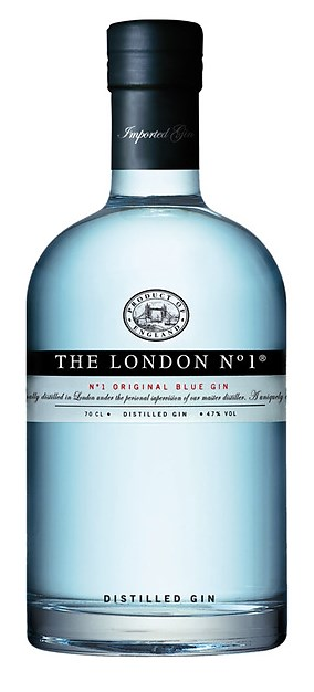 "GINEBRA THE LONDON N 1 Original Blue Gin Inglaterra La Ginebra London Nº1, es una ginebra que está elaborada por una de las destílerias con más prestigio mundial ""William Maxwell Ltd""."