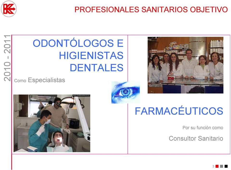 Como Especialistas FARMACÉUTICOS