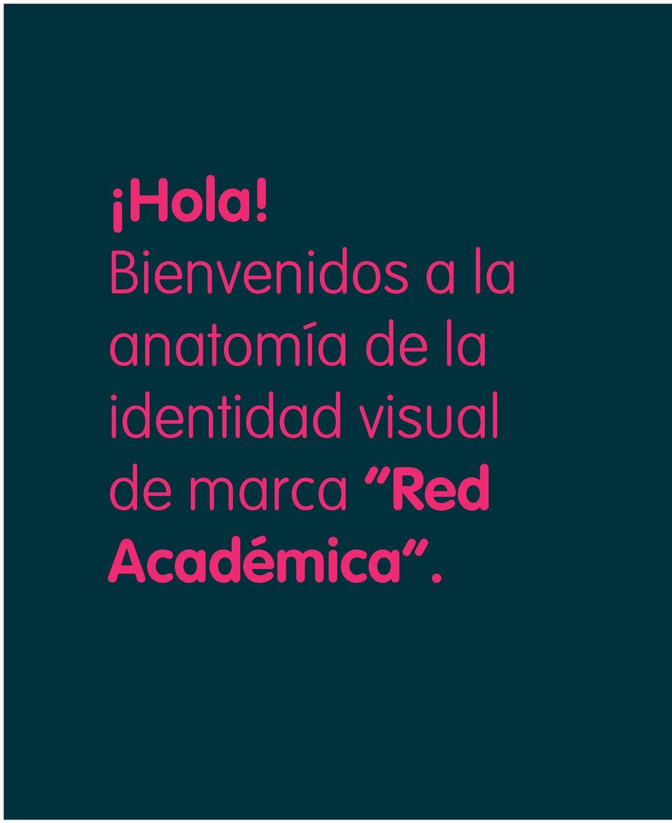 identidad visual de