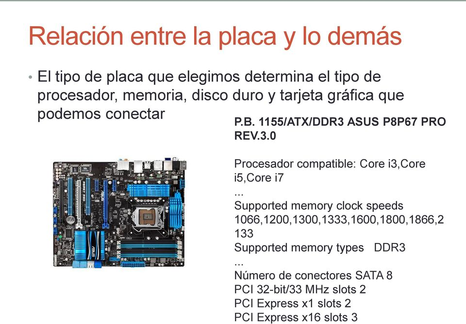 .. Supported memory clock speeds 1066,1200,1300,1333,1600,1800,1866,2 133 Supported memory types DDR3.