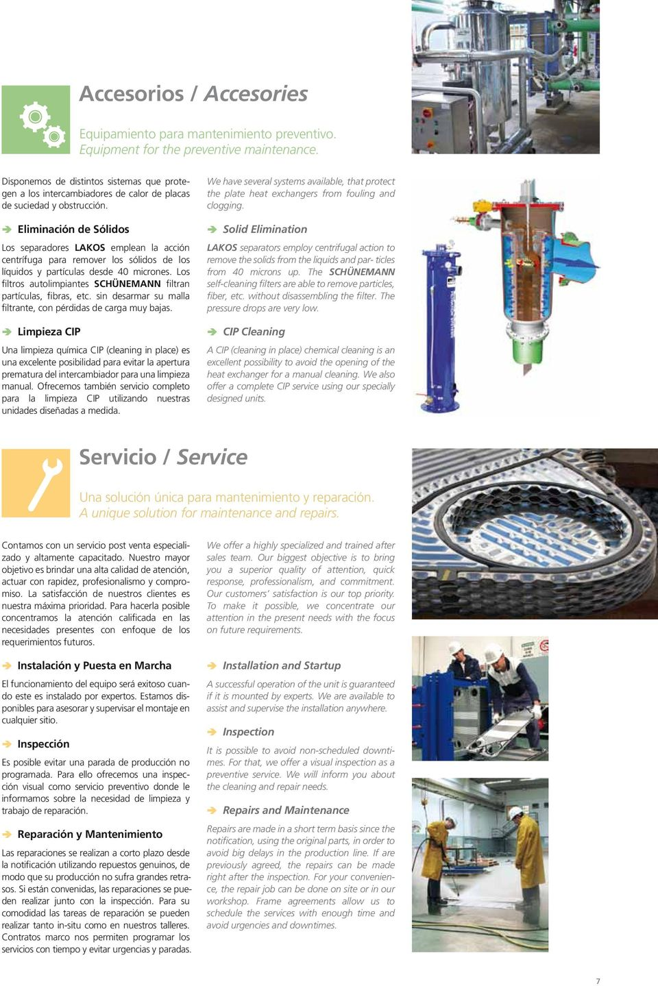 Intercambiadores de Calor de Placas Plate Heat Exchangers - PDF
