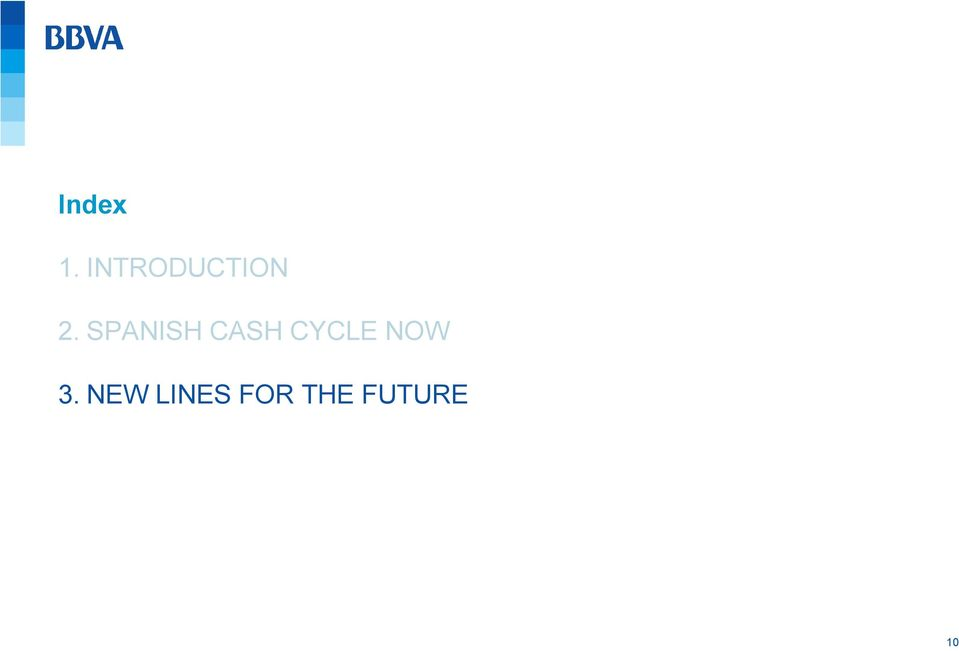 SPANISH CASH CYCLE