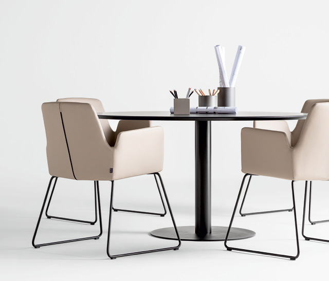 en The ALTEA armchairs are ideal for meeting or office spaces due to its comfort, contemporary design and versatility.