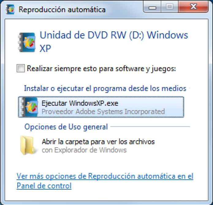 Software: SISTEMA OPERATIVO: - Windows XP de 32 bits - Windows Vista de 32 bits ó 64 bits - Windows 7 de 32 bits ó 64 bits PROGRAMAS: - Adobe flash player (http://get.adobe.com/es/flashplayer/?