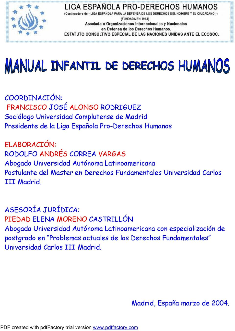 Fundamentales Universidad Carlos III Madrid.