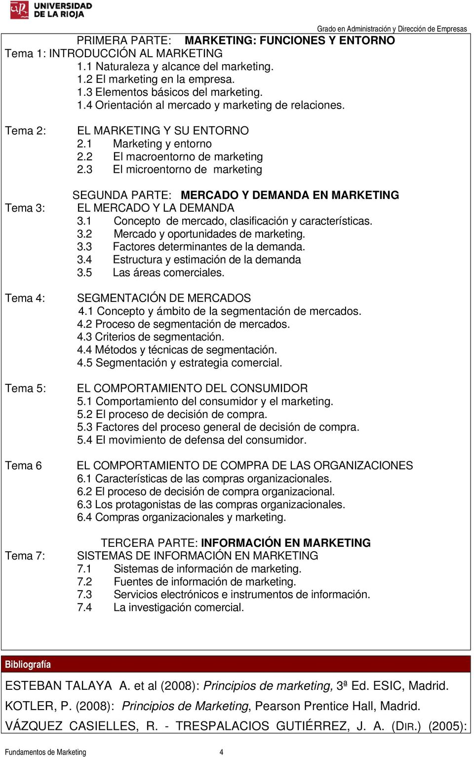 3 El microentorno de marketing SEGUNDA PARTE: MERCADO Y DEMANDA EN MARKETING EL MERCADO Y LA DEMANDA 3.1 Concepto de mercado, clasificación y características. 3.2 Mercado y oportunidades de marketing.