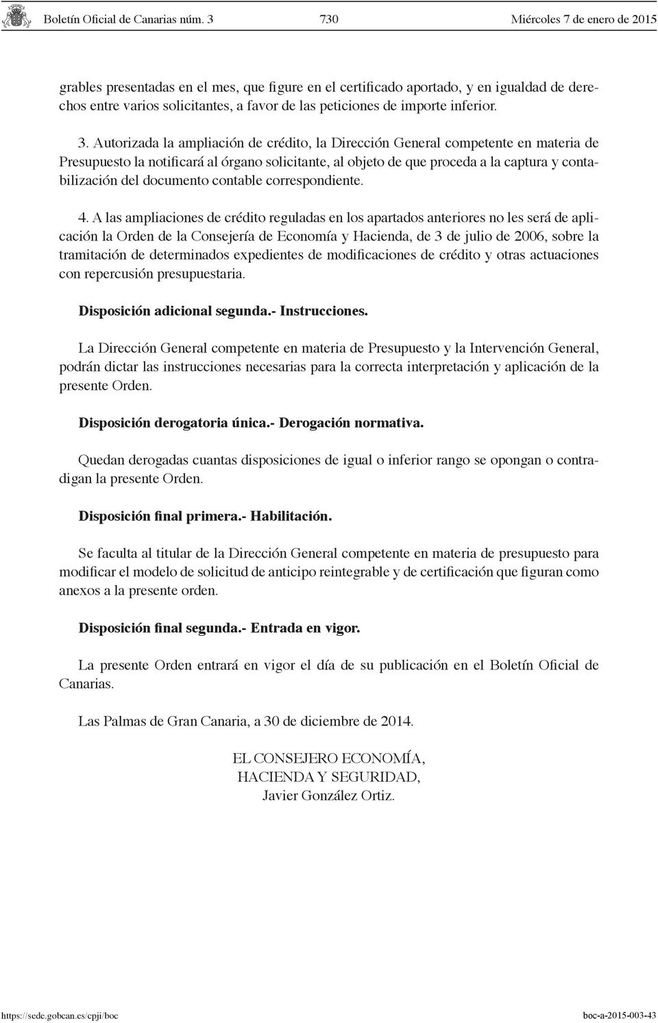 documento contable correspondiente. 4.