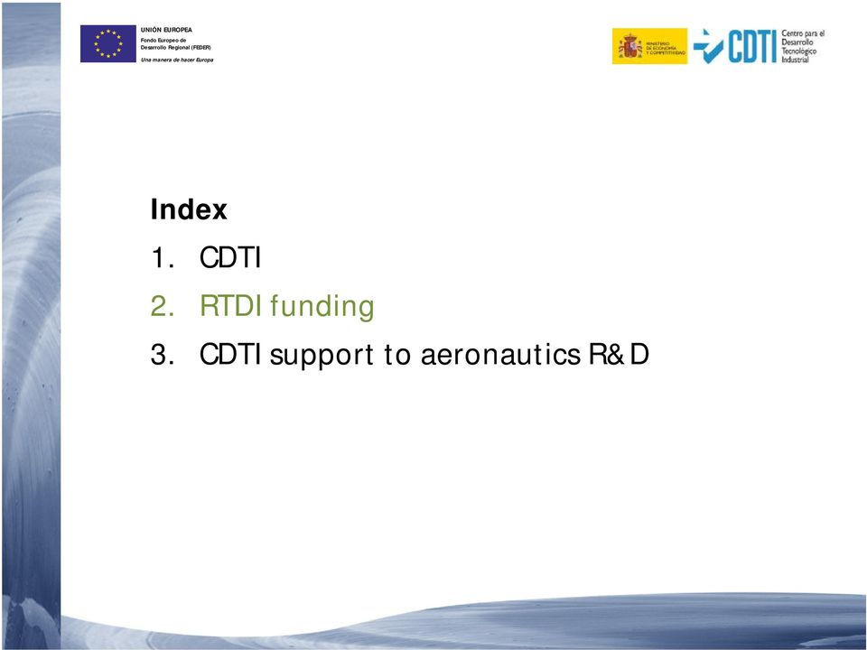CDTI support to