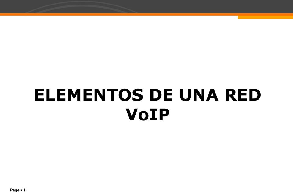 RED VoIP