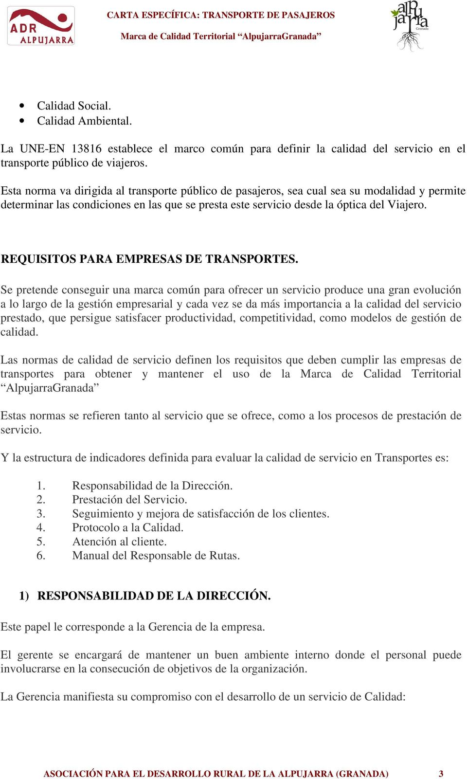 REQUISITOS PARA EMPRESAS DE TRANSPORTES.