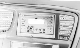 INSTALLATION INSTRUCTIONS FOR PART 95-7345B KIT FEATURES Double DIN head unit provision Painted matte black to match factory finish APPLICATIONS Kia Optima 2011-up 95-7345B Table of Contents Dash