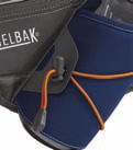 RUN/WALK new colors DELANEY TM 60980 Black A comfortable, adjustable waist pack named after our own 22 time Boston marathon finisher that includes a squeezable CamelBak Podium Bottle and numerous