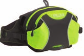 RUN/WALK new redesigned 60978 Black / Hi Viz MONTARA TM A optimal hydration system for trail runners, featuring multiple stash pockets.