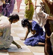 Commentary Gospel: John 8:1-11 What did Jesus write on the ground?