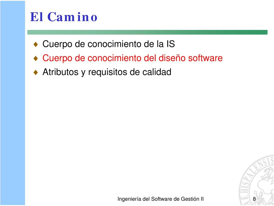 software Atributos y requisitos de