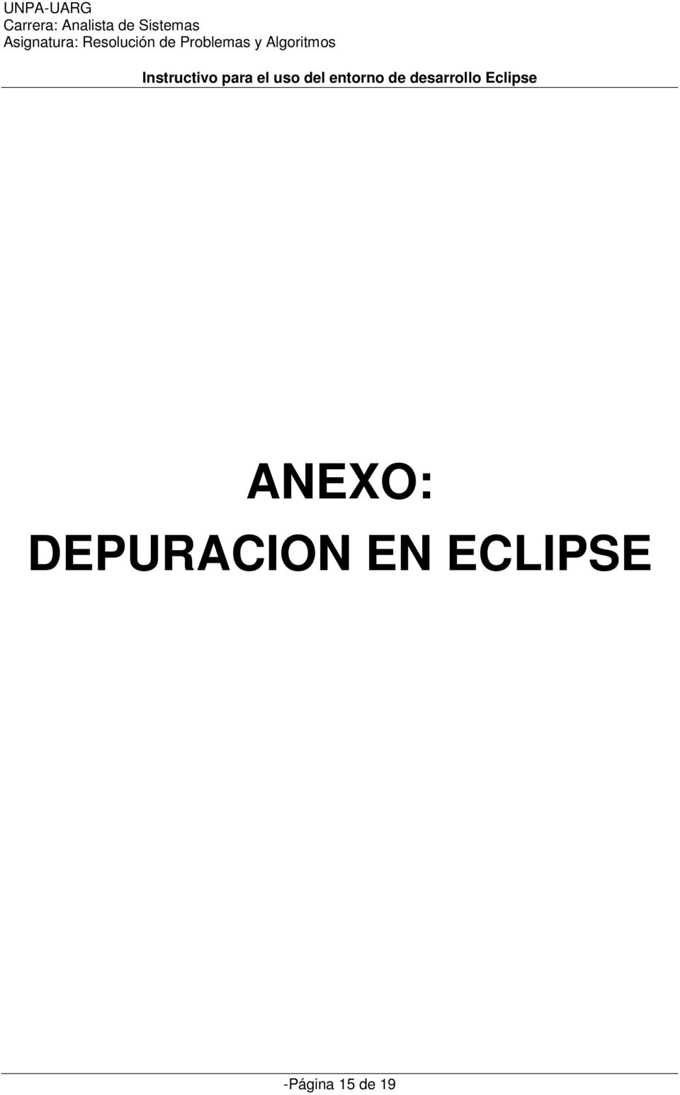 EN ECLIPSE