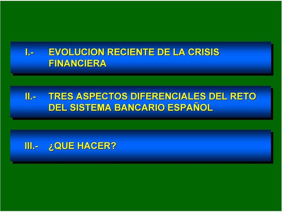 FINANCIERA II.- II.