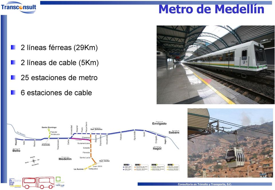 cable (5Km) 25 estaciones