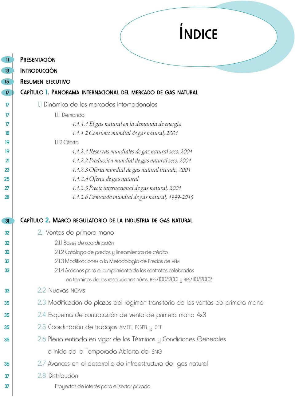 Prospectiva del mercado de gas natural - PDF