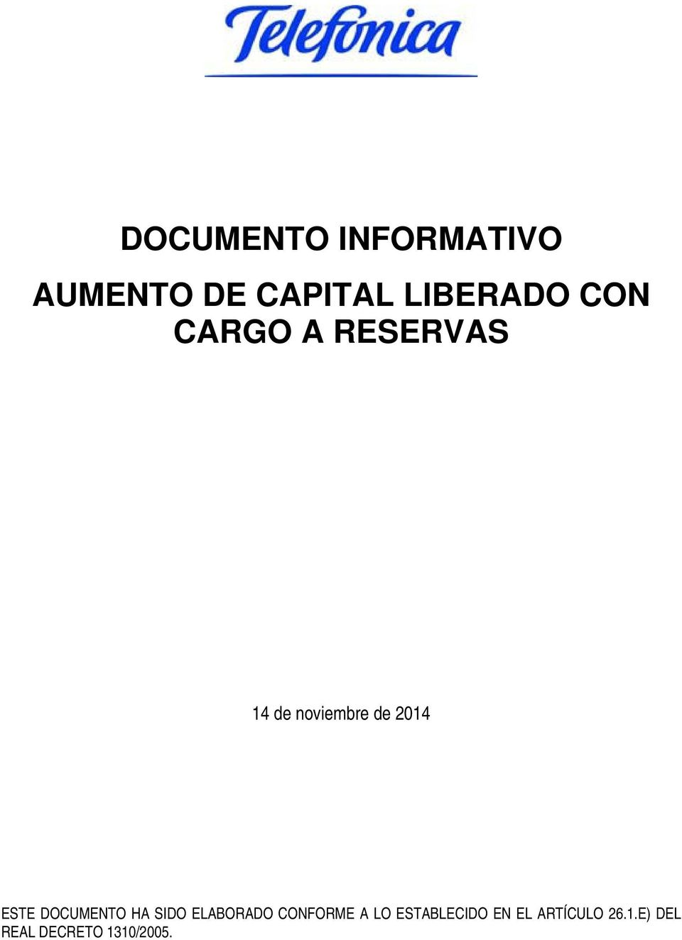 DOCUMENTO HA SIDO ELABORADO CONFORME A LO