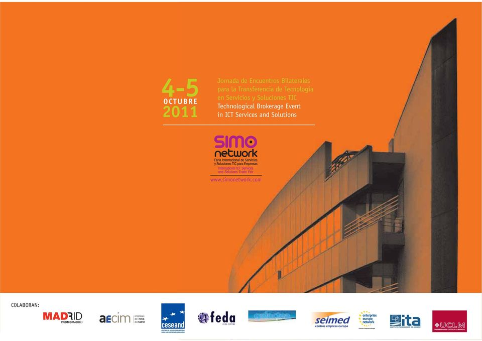 Technological Brokerage Event in ICT Services and Solutions www.