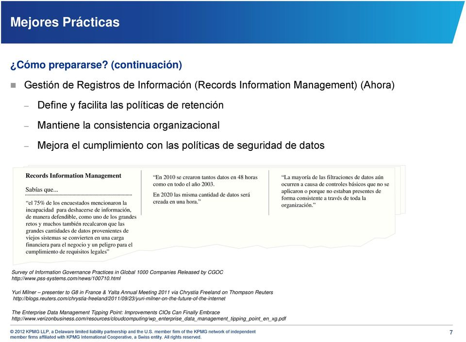 con las políticas de seguridad de datos Records Information Management Sabías que.