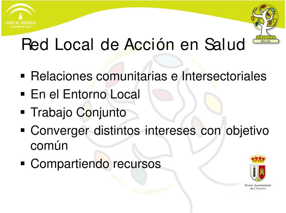 Entorno Local Trabajo Conjunto Converger