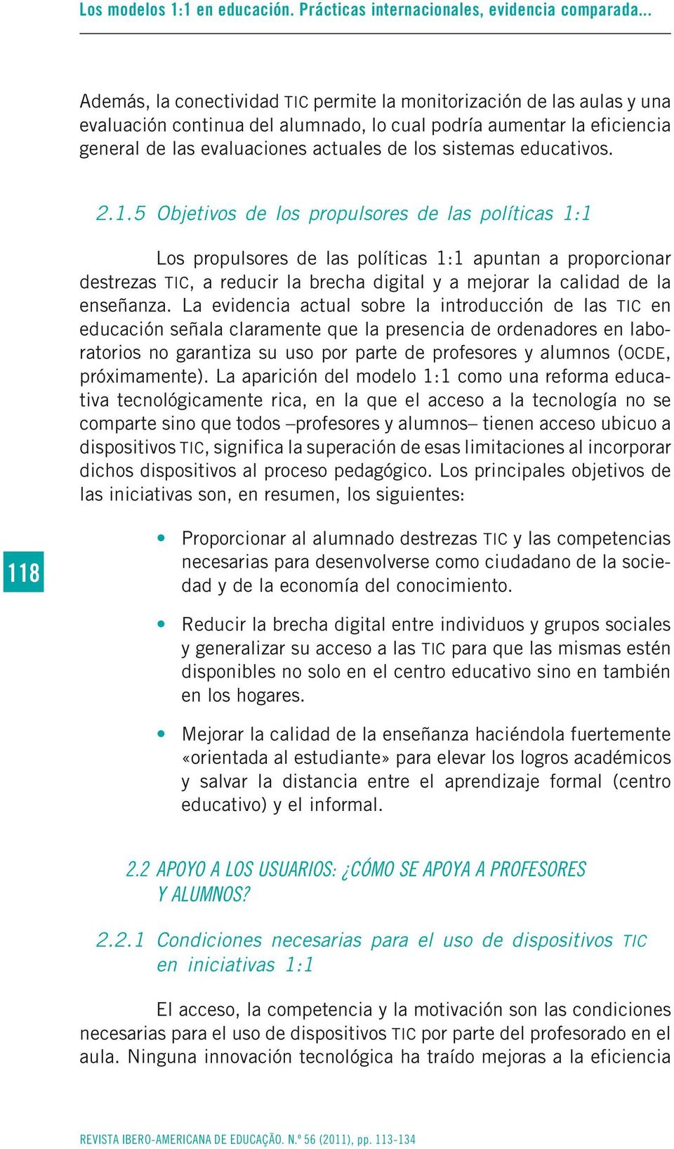 sistemas educativos. 2.1.