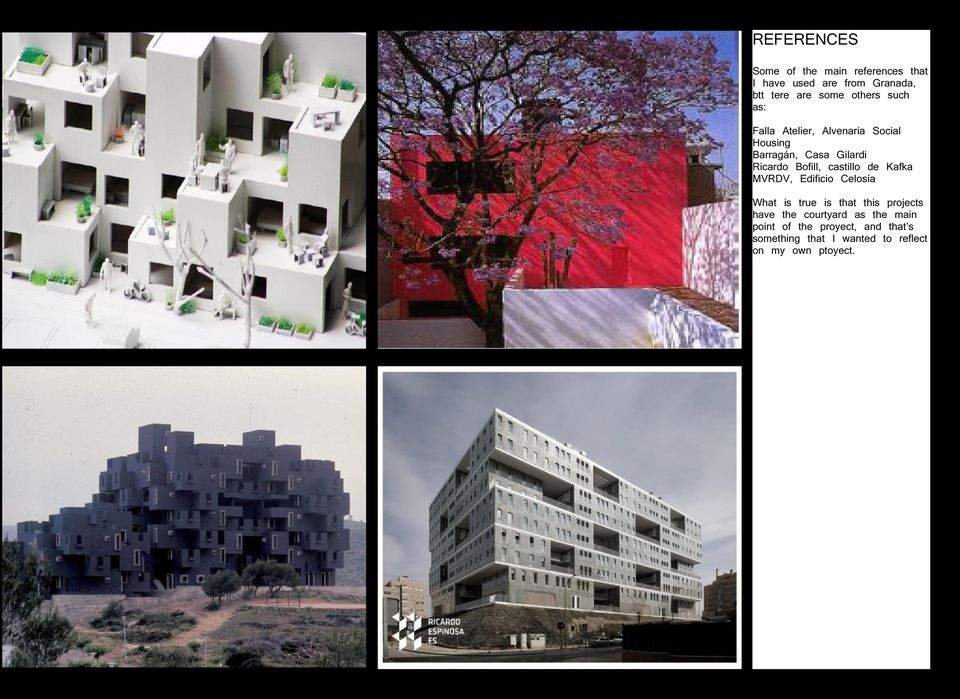 castillo de Kafka MVRDV, Edificio Celosía What is true is that this projects have the courtyard