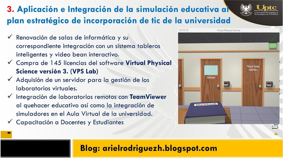Compra de 145 licencias del software Virtual Physical Science versión 3.