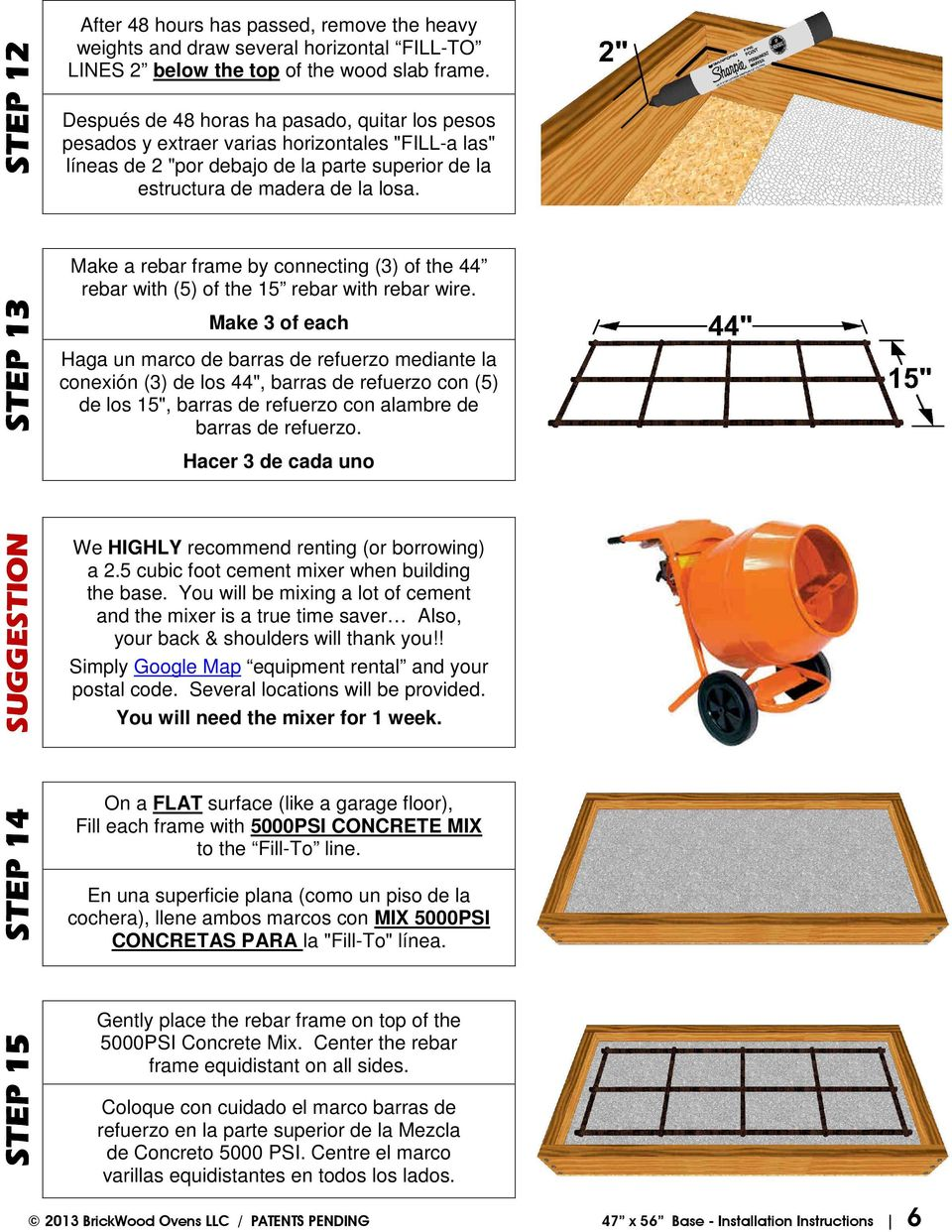 47 x 56 Insulated Base - PDF