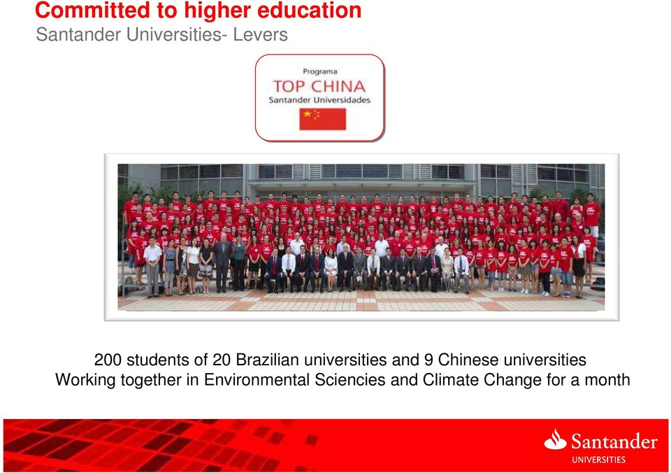 universities and 9 Chinese universities Working