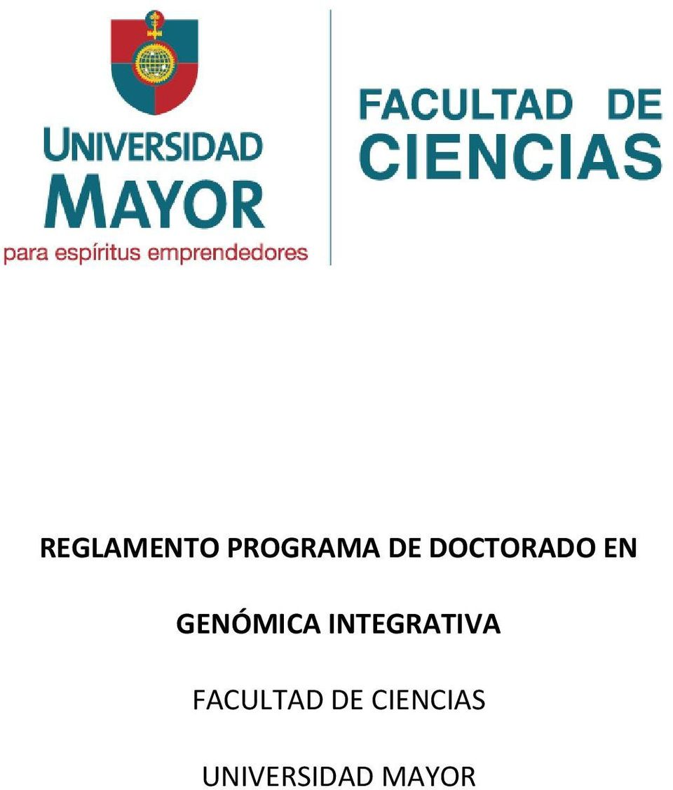 INTEGRATIVA FACULTAD DE