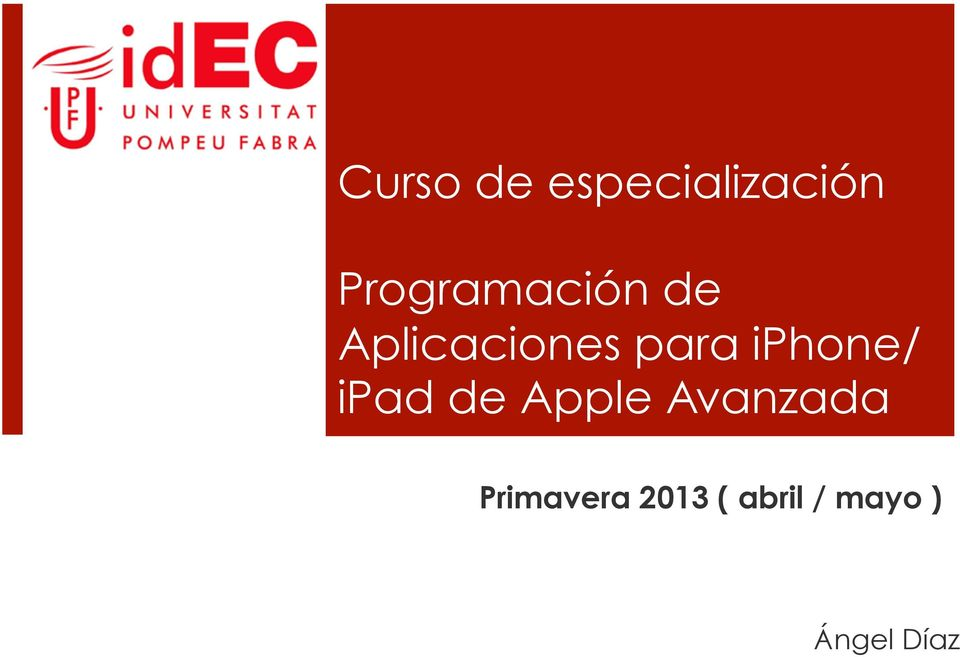 para iphone/ ipad de Apple