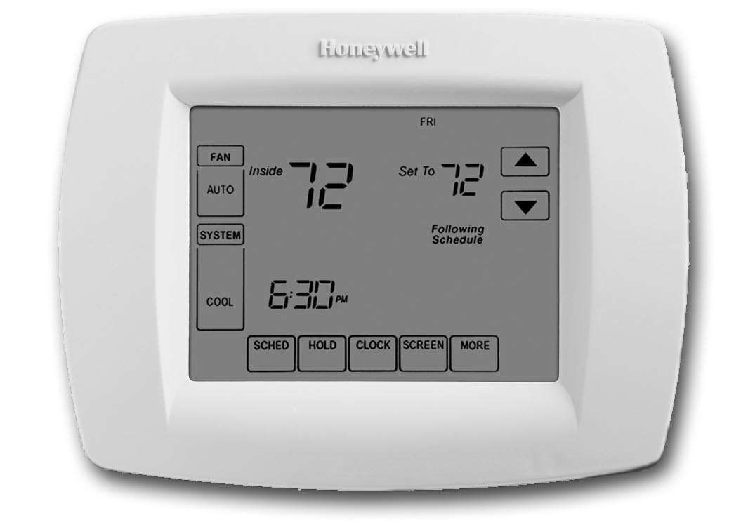 Installation Guide VisionPRO TH8000 Series Touch-screen Programmable Thermostat This manual covers the following models TH8110U: For 1 Heat/1 Cool systems TH8320U: For up to 3 Heat/2 Cool systems
